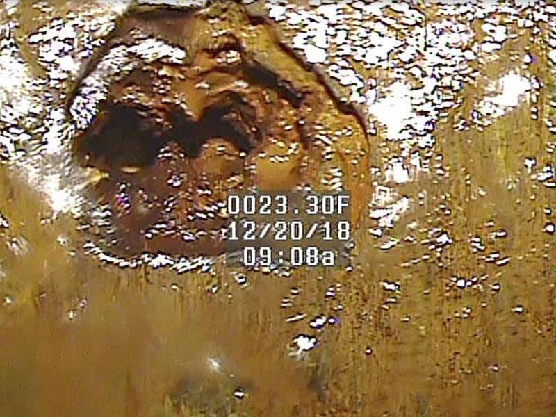 IA-Am-Clinton-well-10-Casing-Hole-23-ft